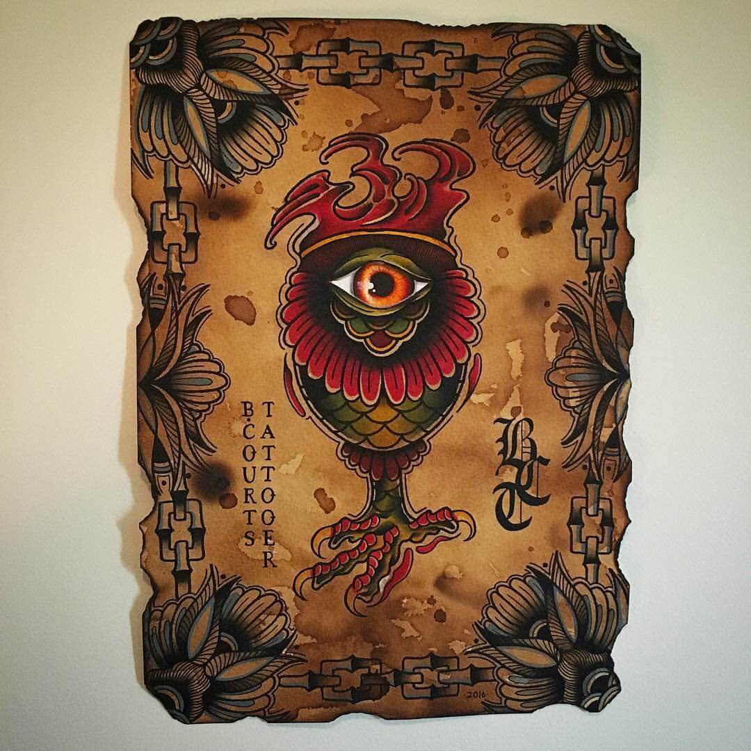 all seeing eye design by brendan courts